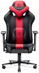 Diablo Chairs X-Player 2.0, dětská, karmínová/antracitová (5902560337792)