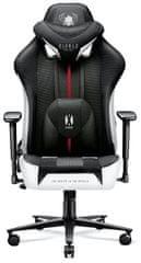 Diablo Chairs X-Player 2.0, dětská, bílá/černá (5902560337815)