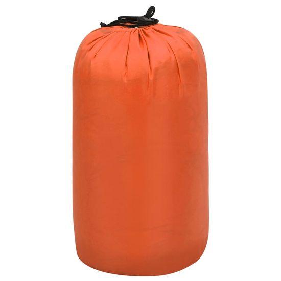Greatstore Spací vak oranžový 5 ℃ 1400 g