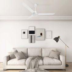 shumee Stropni ventilator 142 cm bel