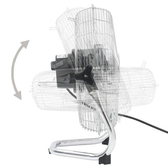 shumee Talni ventilator 3 hitrosti 45 cm 60 W Chrome