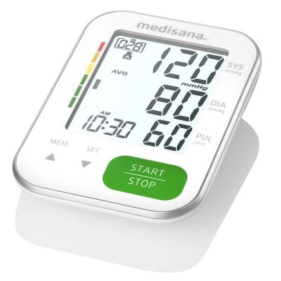 shumee Merilnik krvnega tlaka za nadlaket Medisana BU 565, bel