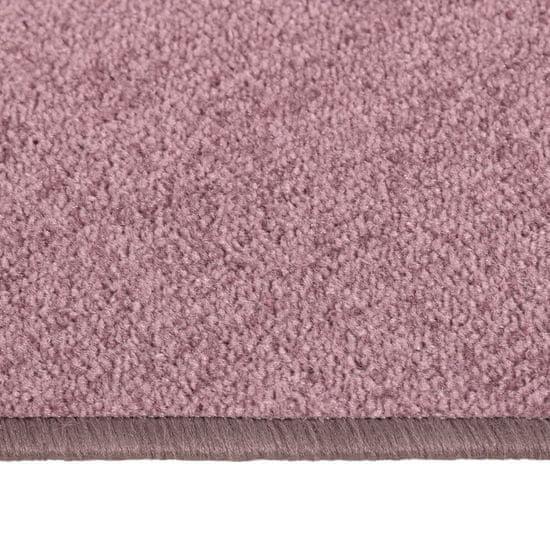 shumee Nadýchané koberce do spálne, dlhé vlasy, 3 ks, fialové