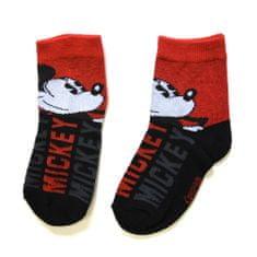 "SETINO Fantove visoke nogavice ""Mickey Mouse"" - rdeča - 27–30"