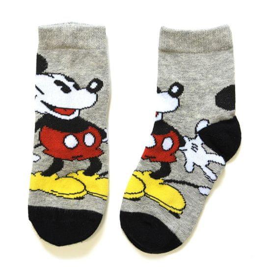 """SETINO Wysokie skarpety chłopięce """"Myszka Mickey"""" - szary"""