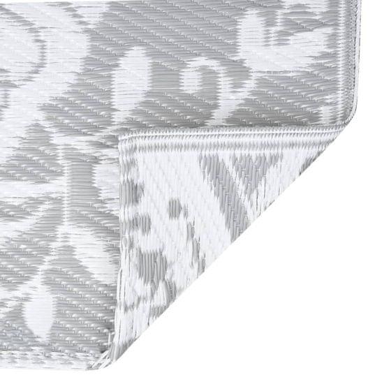 shumee világosszürke PP kültéri szőnyeg 190 x 290 cm