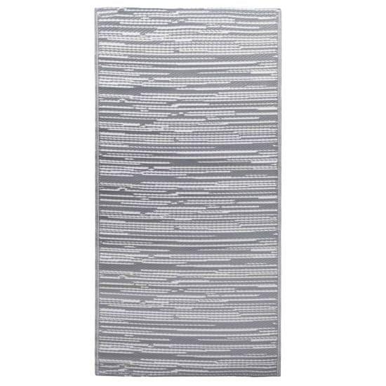 shumee Vonkajší koberec sivý 160x230 cm PP