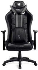 Diablo Chairs X-Ray, černá/šedá (5902560336047)