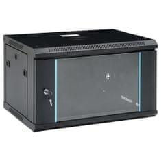 """shumee 6U Nástenná serverová skriňa 19"""" IP20 600x450x375 mm"""