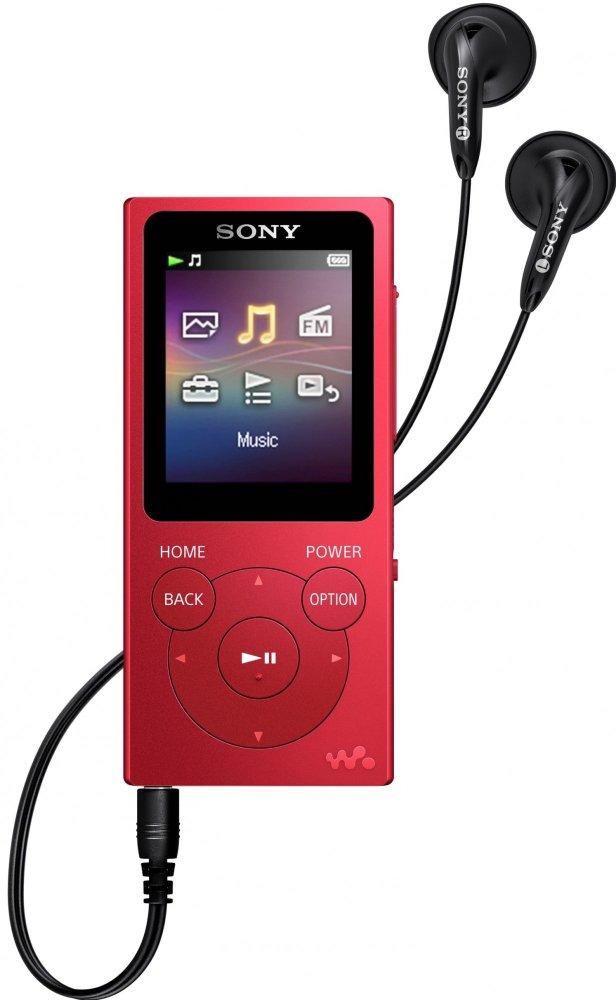 Sony NW-E394L, 8 GB, černá