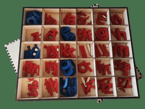 LINIT DESIGN Pomična abeceda - male tiskane črke