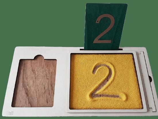 LINIT DESIGN Podloga za črke, številke in grafomotorne ploščice