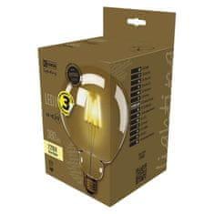 Emos LED žarnica Vintage G125 4W E27 WW+