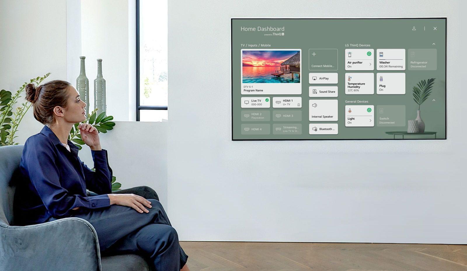 LG TV televizor NANOCELL 4K 2021 procesor α7 4K Gen4 AI glasovni nadzor google pomočnik amazon alexa