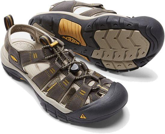 KEEN NEWPORT H2 1008399 moški sandali krokar / aluminij