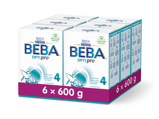 BEBA OPTIPRO 4 (6x600 g)
