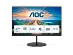AOC U27V4EA monitor, 68.6 cm (27), IPS, 4K UHD