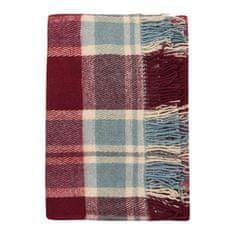 Cozy Blankets Bavlněný pléd NW 170x200 cm modrá/červená