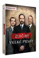 Zločiny Velké Prahy (4DVD) - DVD
