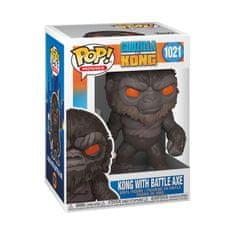 Funko Figurka Movies: Godzilla Vs Kong - POP 1 (King Kong with axe)