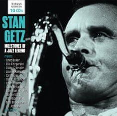 Getz Stan: Milestones of a Jazz Legend (10x CD) - CD