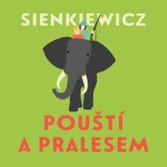 Sienkiewicz Henryk: Pouští a pralesem (2x CD) - MP3-CD