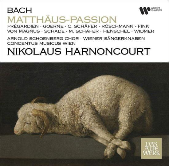 Harnoncourt Nikolaus: Matthaus-Passion (3x CD) - CD