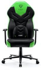 Diablo Chairs X-Gamer 2.0, černá/zelená (5902560337471)