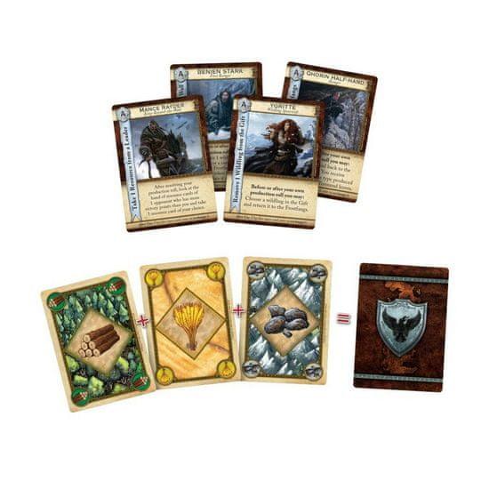 Fantasy Flight Games družabna igra A Game of Thrones Catan - Brotherhood of the Watch angleška izdaja