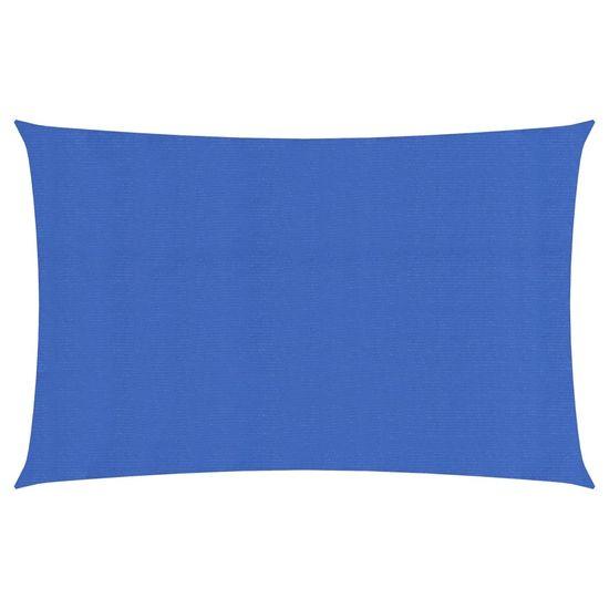 shumee Żagiel przeciwsłoneczny, 160 g/m², niebieski, 2x5 m, HDPE