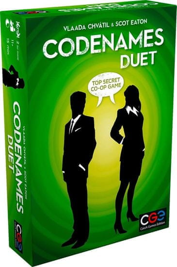 CGE družabna igra Codenames Duet angleška izdaja
