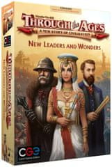 CGE družabna igra Through the Ages, razširitev New Leaders and Wonders angleška izdaja