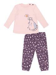 WINKIKI dievčenské pyžamo Cute Cat WNG02823-210 74 ružové