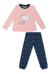 dievčenské pyžamo Starr Sky WKG02832-216 98 ružové