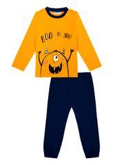 chlapčenské pyžamo Boo WKB92618-321 98 tmavomodré