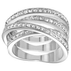 Swarovski Okouzlující prsten Spiral 1156304 (Obvod 52 mm)