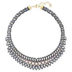 Swarovski Masivní náhrdelník s krystaly Swarovski Slake Pulse 5244212