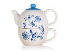 Banquet čajnik s skodelico ONION