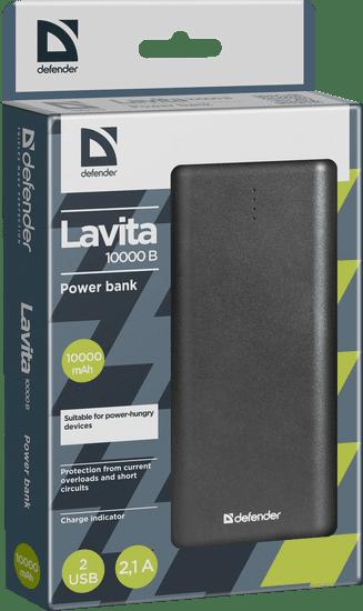 Defender Prenosna baterija Lavita 10000B 10000 mAh (Power bank)