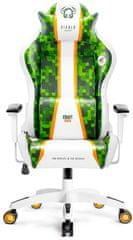Diablo Chairs X-One Craft, bílá/zelená (5902560338430)