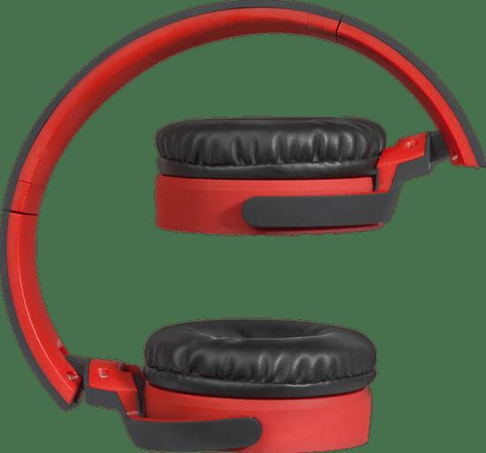Defender FreeMotion B530 brezžične slušalke, črno-rdeče