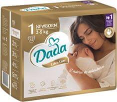 Dada Extra Care, veľ.:1, 2-5 kg, 23 ks