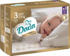 Dada Extra Care, veľ.: 3, 4-9 kg, 40 ks
