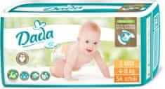 Dada Extra Soft, jednorázové pleny, vel.:3, 4-9kg, 54ks