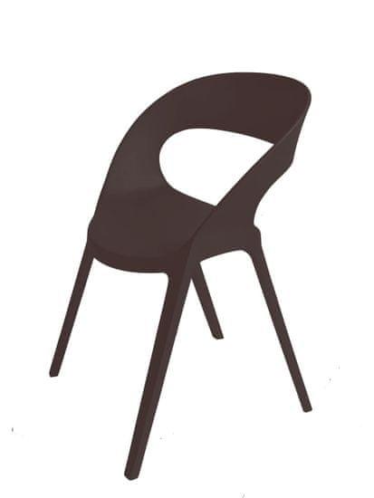 shumee Krzesło Carla czarne