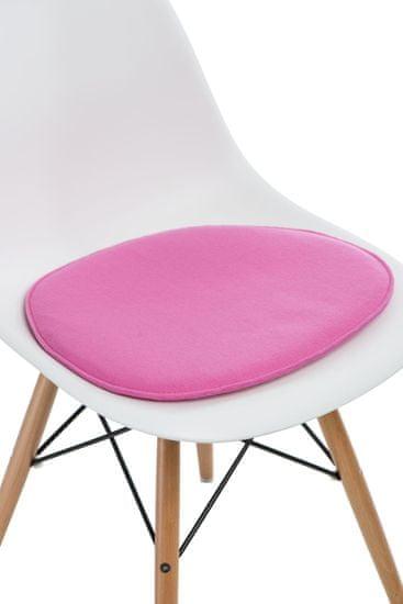 shumee Side szék rózsaszín párna