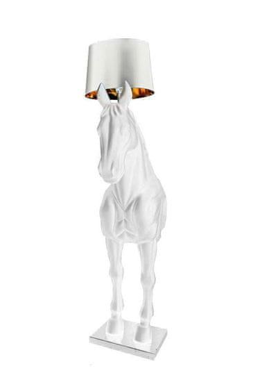 shumee HORSE STAND S talna svetilka bela - steklena vlakna