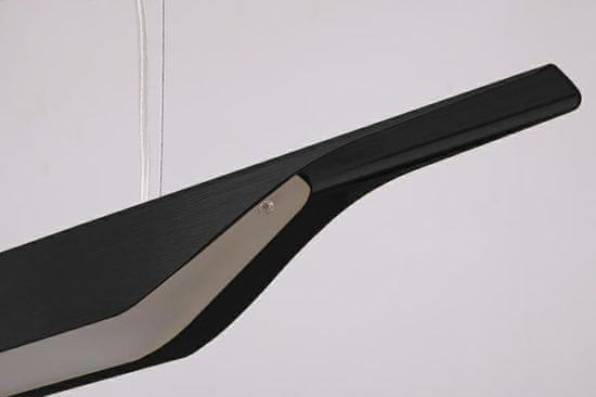 shumee Viseča svetilka VERTIGO črna - LED, aluminij
