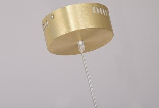 shumee Viseča svetilka VERTIGO zlata - LED, aluminij