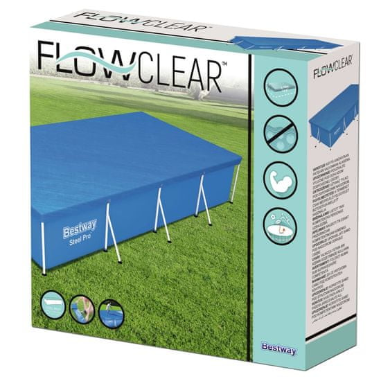 shumee Bestway Flowclear medencetakaró 400 x 211 cm